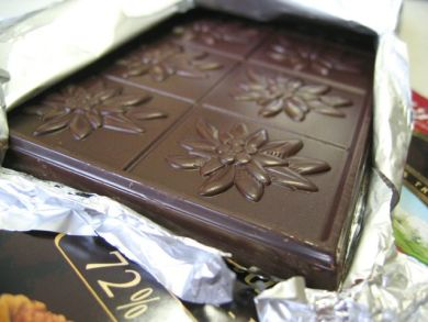 Villars 72 percent chocolate