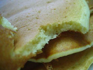 Buttermilk Pancakes - closeup