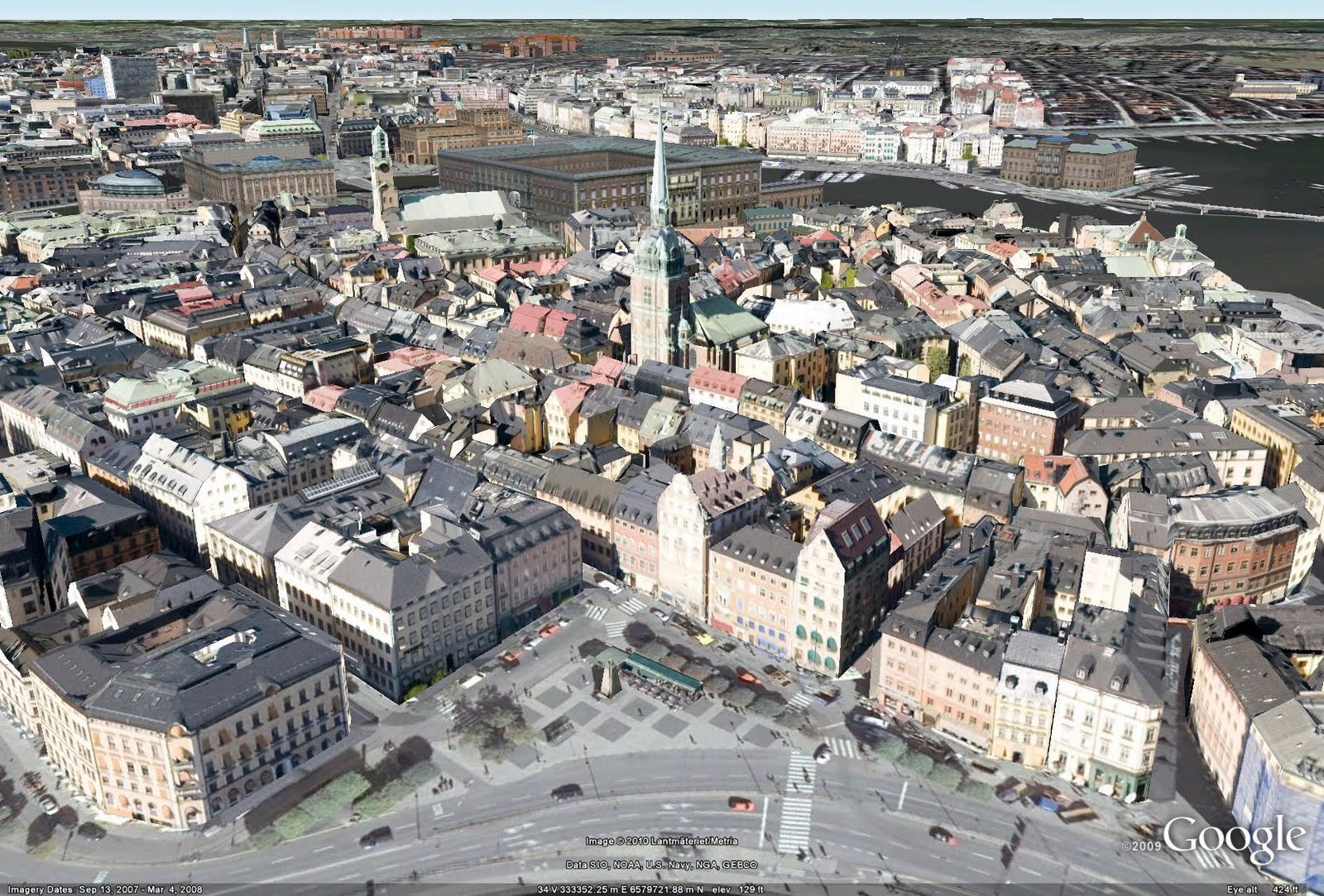 Retired SketchUp Blog  Stockholm is on the 3D Map Stockholm is on the 3D Map
