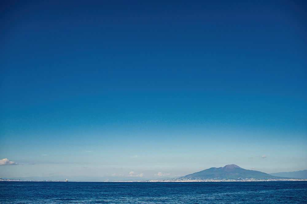 capri, italy, sea, mare, blue, turquiose, summer, october, vesuvio