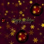 Holidays greeting card