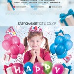 Inspirational art 26 – Birthday Party Flyers