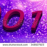 New year greeting card – stock image