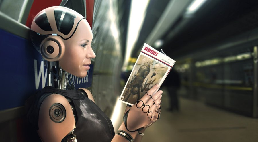 do_androids_read_robot_book__by_d4n13l3