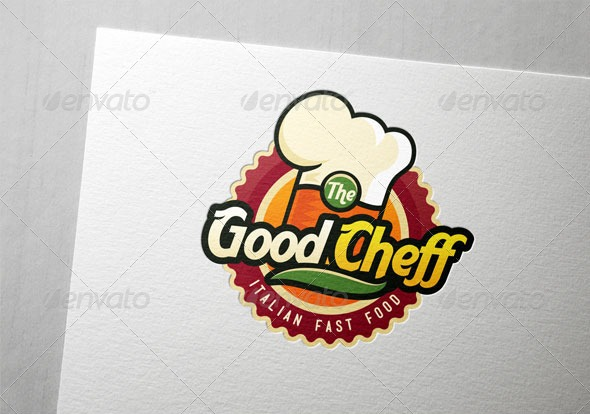 restaurant hotel logos chef cook cooking