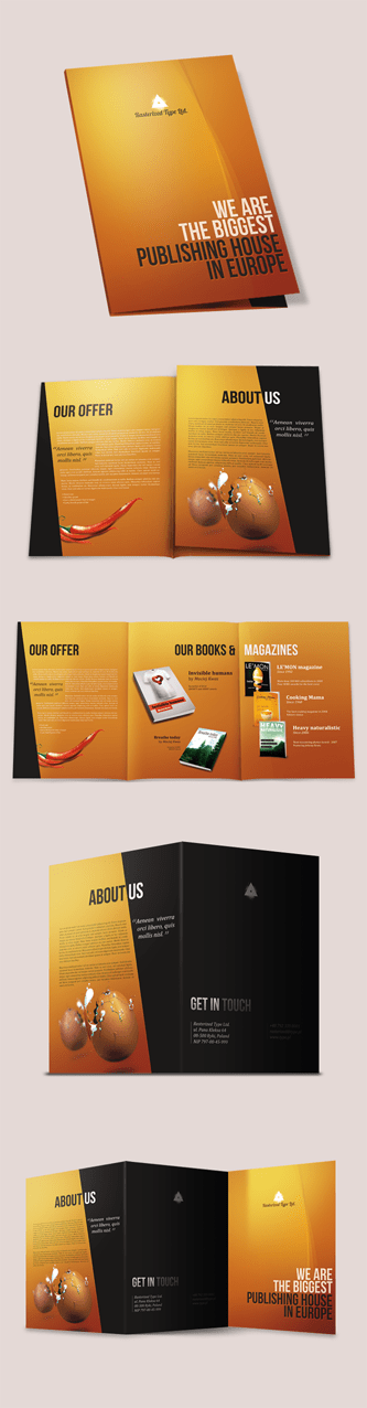 How to Create Brochure Mockups in Photoshop   Photoshop Tutorials Create a Tri fold A4 brochure Photoshop Tutorial