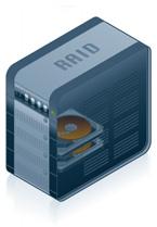 Computer with RAID