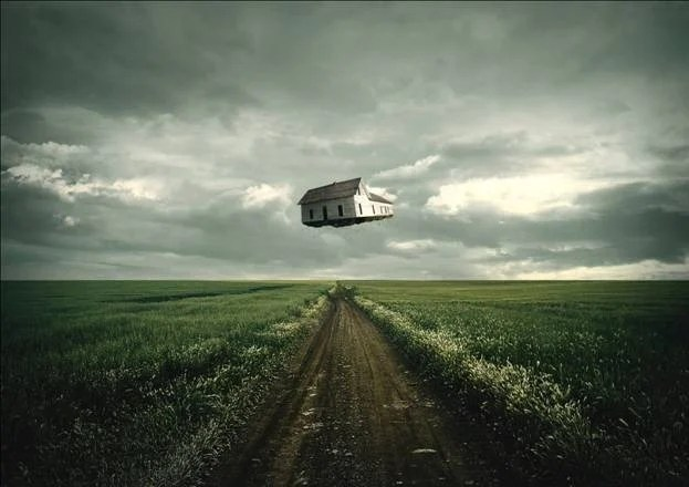Travelling House Photo Manipulation Photoshop Tutorial