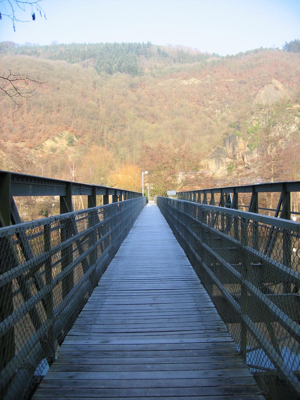 Draht Schmitt Brücke Lahnstein