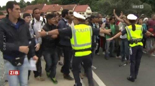 2015: Österreich hat die Grenzkrise