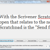 Lost Your Scratchpad? Here It Is In Scrivener!