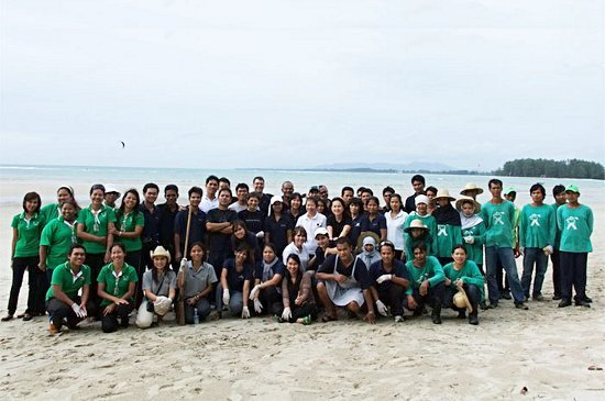 Nai Yang Beach Cleaning