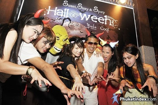 Sweet, Sexy & Spicy Halloween @ Sri panwa Phuket