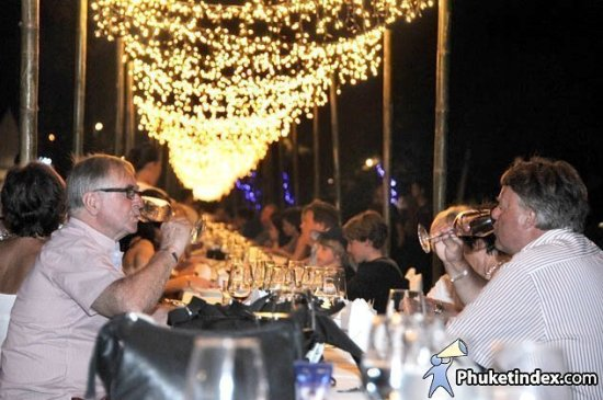 Phuket's longest dining table