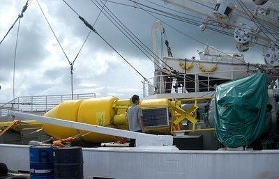 tsunami detecting buoys