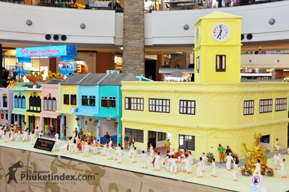 Phuket's event began with tiny things
