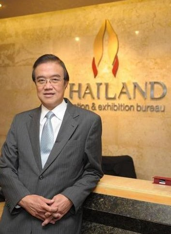 Mr Akapol Sorasuchart, the President of Thailand Convention & Exhibition Bureau (TCEB)