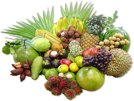 Thai fruits and their seasons