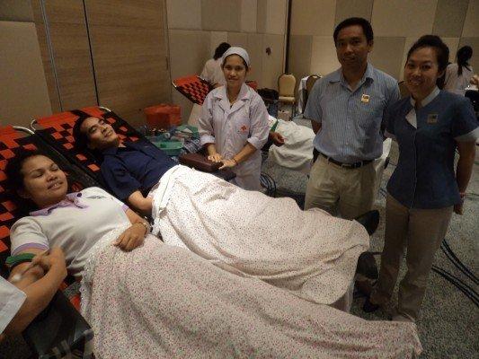Blood Donation at Holiday Inn Resort Phuket Mai Khao Beach