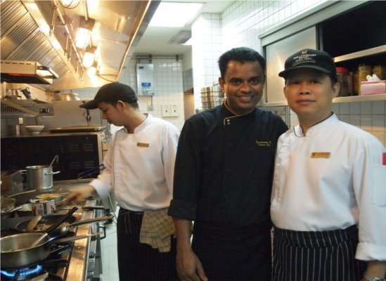 MRPP Indian Food Training by Indian Chef from Grand Millennium Sukhumvit Bangkok