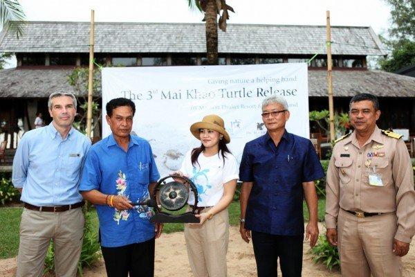 3rd Mai Khao Turtle Release Staged On 10th Anniversary Of Mai Khao Marine Turtle Foundation