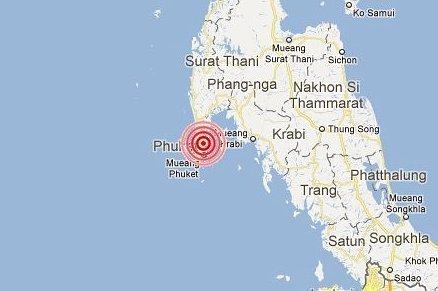 Phuket Earthquake