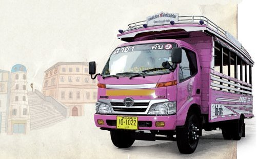 PPAO Pink Bus