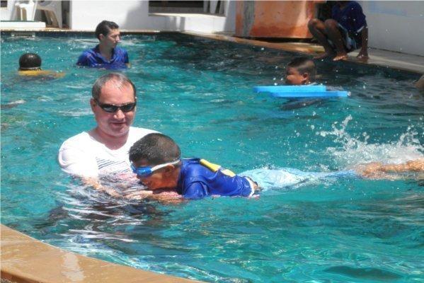 Phuket Has Been Good to Us Foundation Swim Program
