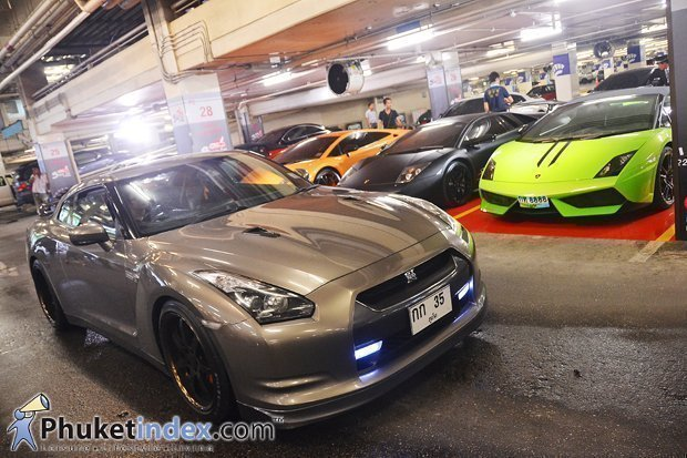 Super Car parking area launch at Central Festival Phuket