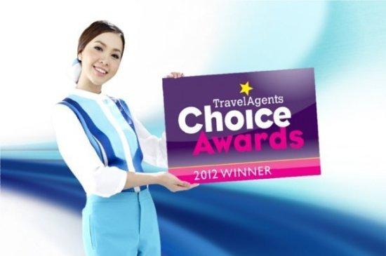 "Bangkok Airways reclaims UK's ""Travel Agents Choice Awards"""