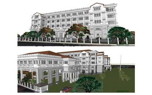 Phuket presents plans for new Provincial Hall