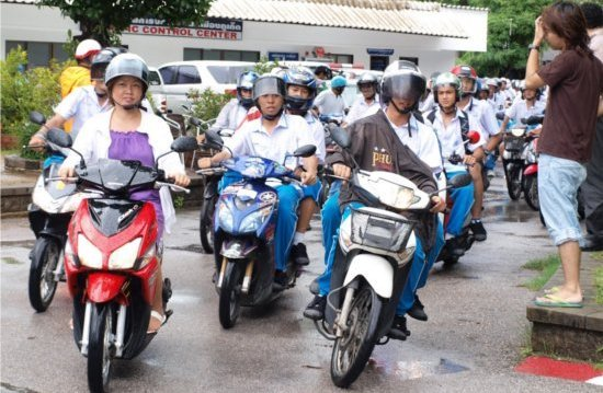 Phuket starts New Year road safety campaign