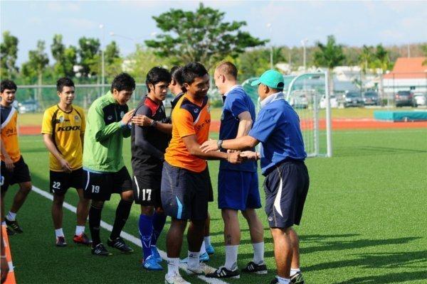 Phuket FC now training at Thanyapura Sports & Leisure Club