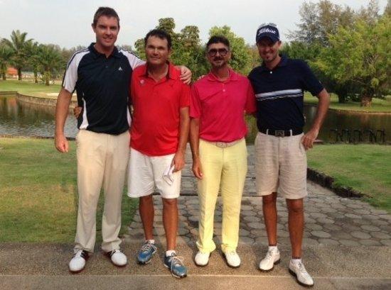 Italian Stallions Victorious in Phuket Charity Golf Challenge