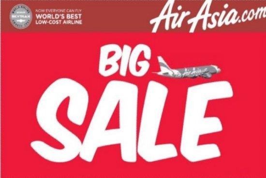 It's back -  AirAsia's Big Sale