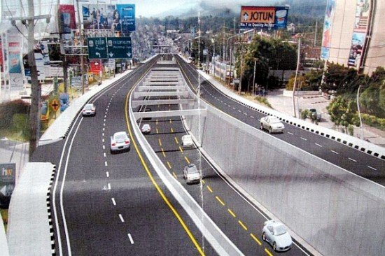 Phuket underpass to have 2 lanes open by early 2014
