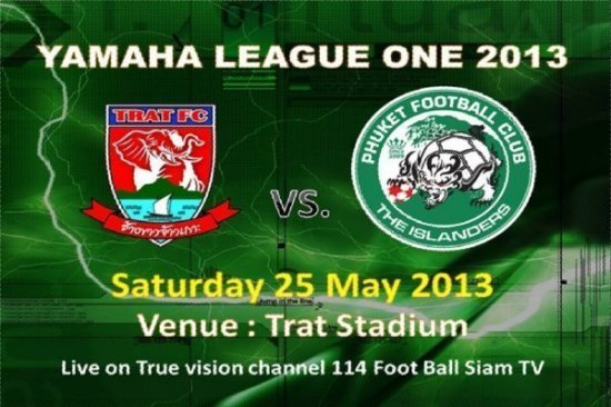 Phuket FC to take on Trat FC today