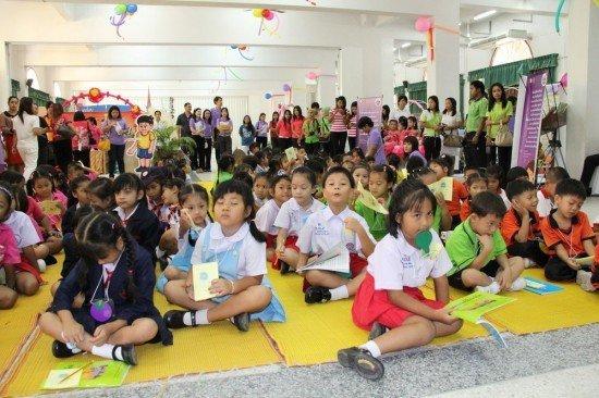 Phuket holds kid's Joy Reading Caravan event