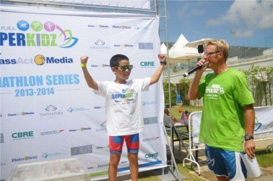 """Phuket's Thanyapura launches """"SUPERKIDZ"""" Aquathlon"""