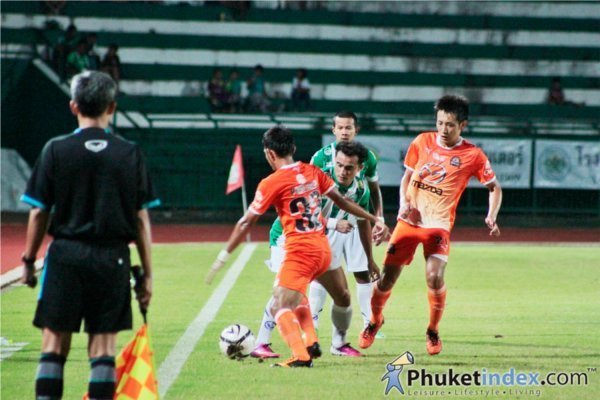 Phuket FC end first half of season with loss