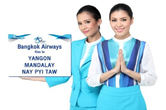 Bangkok Airways first foreign carrier in Nay Pyi Taw