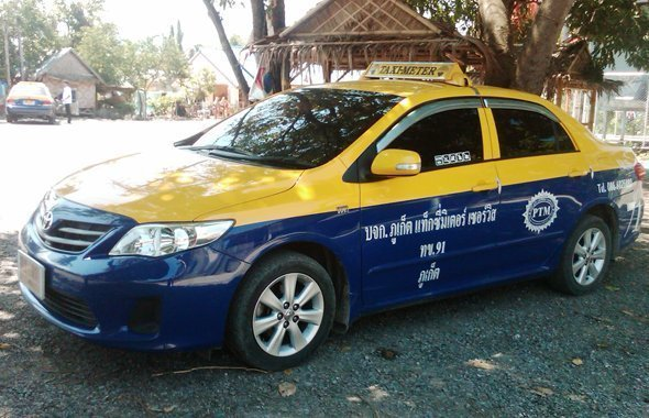 Phuket metered taxi rates to increase