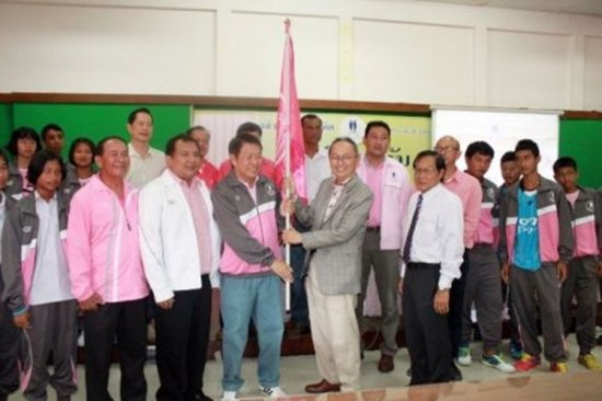 Phuket sportspersons leave to compete in Nakhon Trang Games