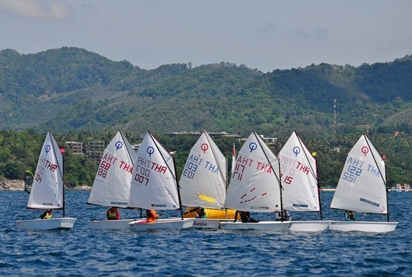 PTTGC supports Thai dominance in Phuket Dinghy Series