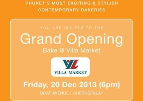 Phuket to see opening of fifth branch of BAKE