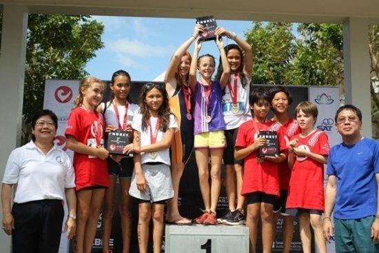 Phuket's first Junior Challenge Triathlon Event
