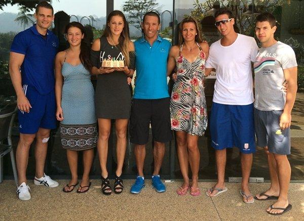 Top 50 seed tennis player celebrates birthday in Phuket