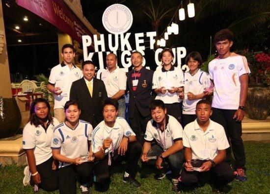 Windsurfing Association of Thailand congratulate winners of Phuket Windsurfing Championship
