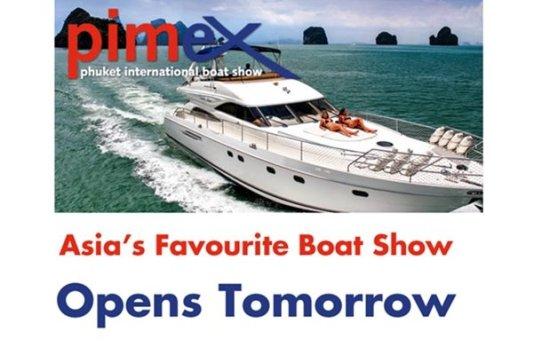 Phuket International Boat Show (PIMEX) Opens Tomorrow