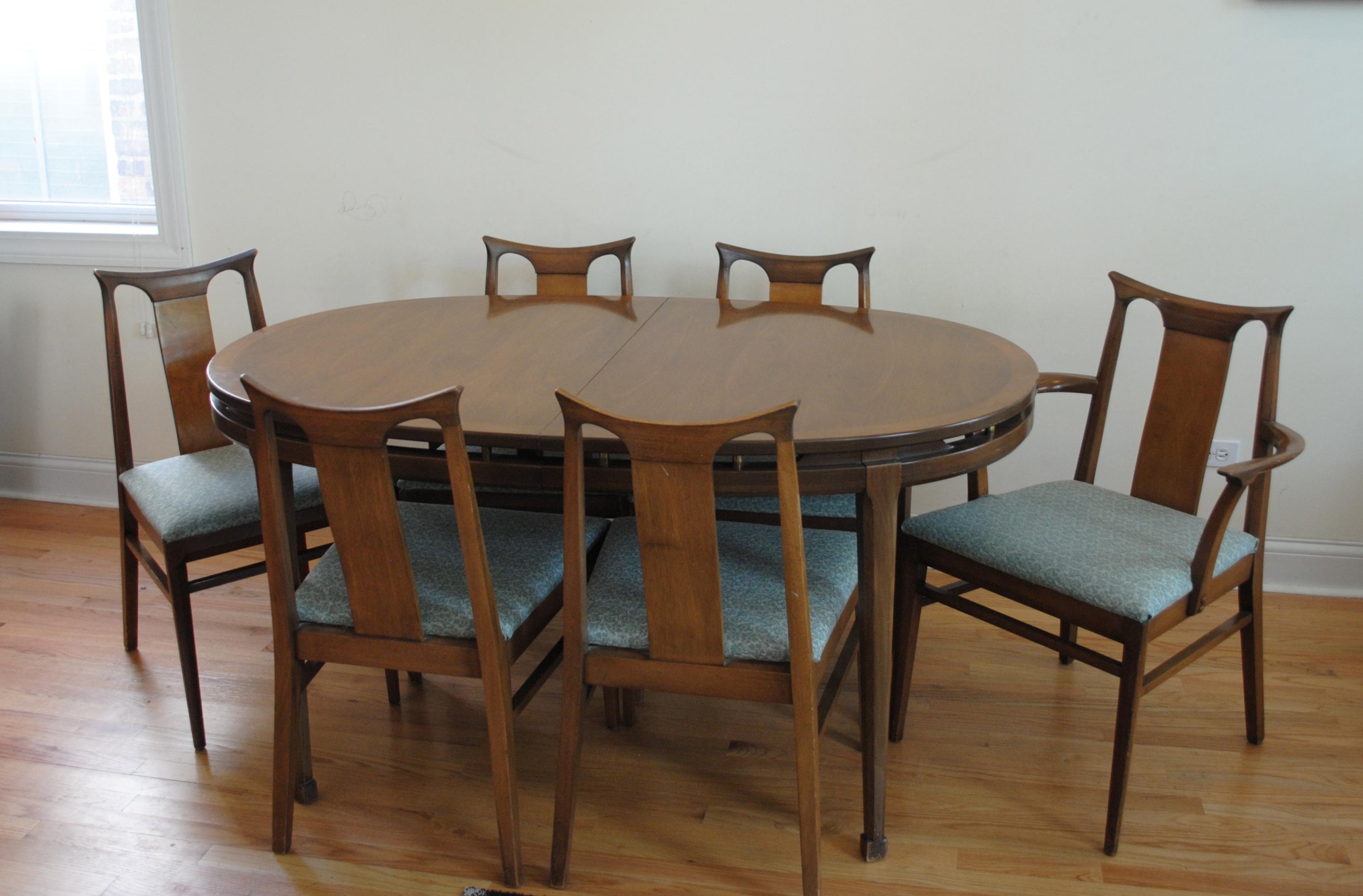 dining table mid century kitchen table Mid Century Dining Set